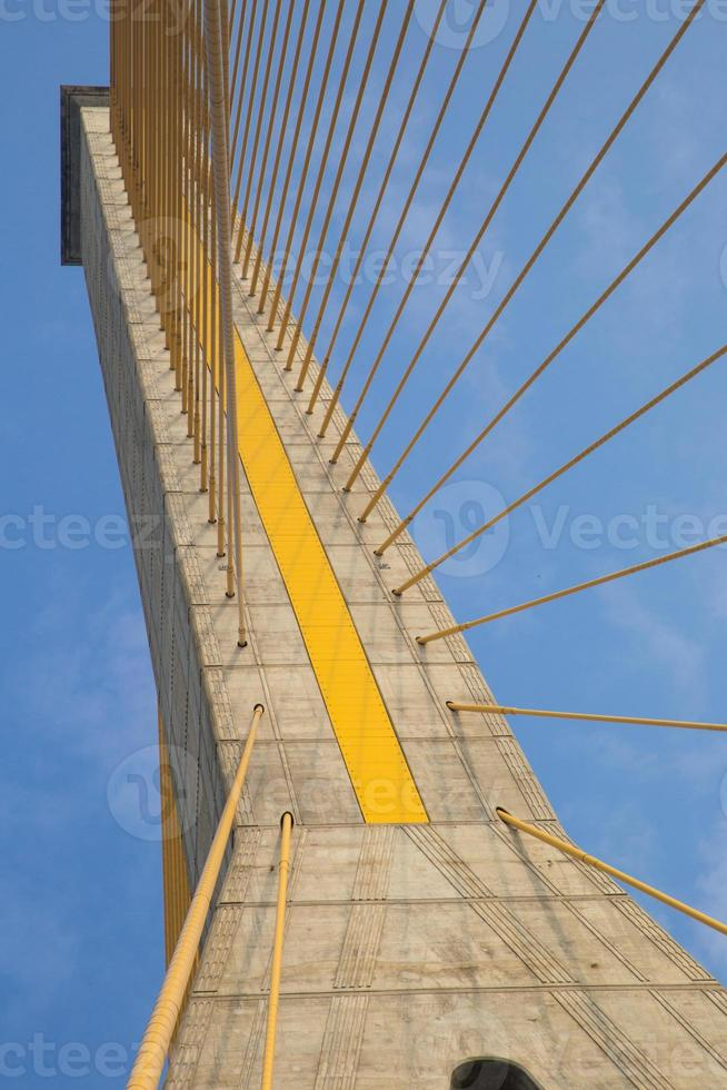 Mega bridge in Bangkok,Thailand (Rama 8 Bridge) photo