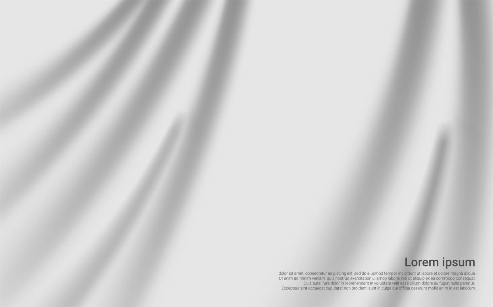 textura de cortina blanca de lujo vector