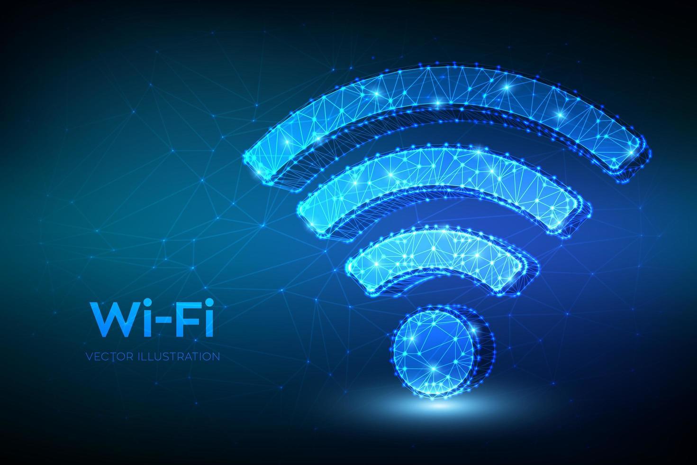 icono de red wi-fi vector