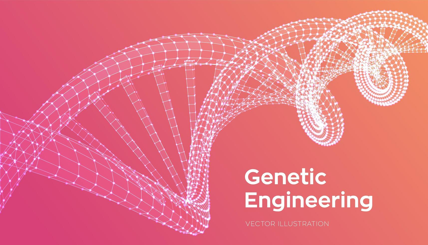 DNA code sequence vector