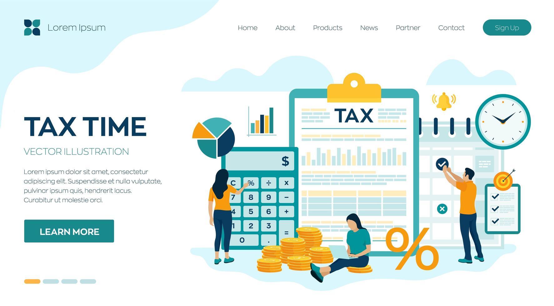 análisis de datos investigación financiera vector