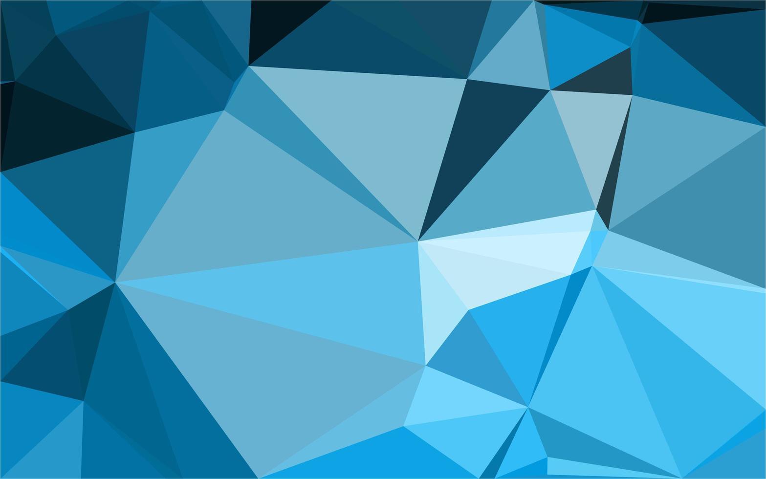 padrão de triângulo azul claro vetor