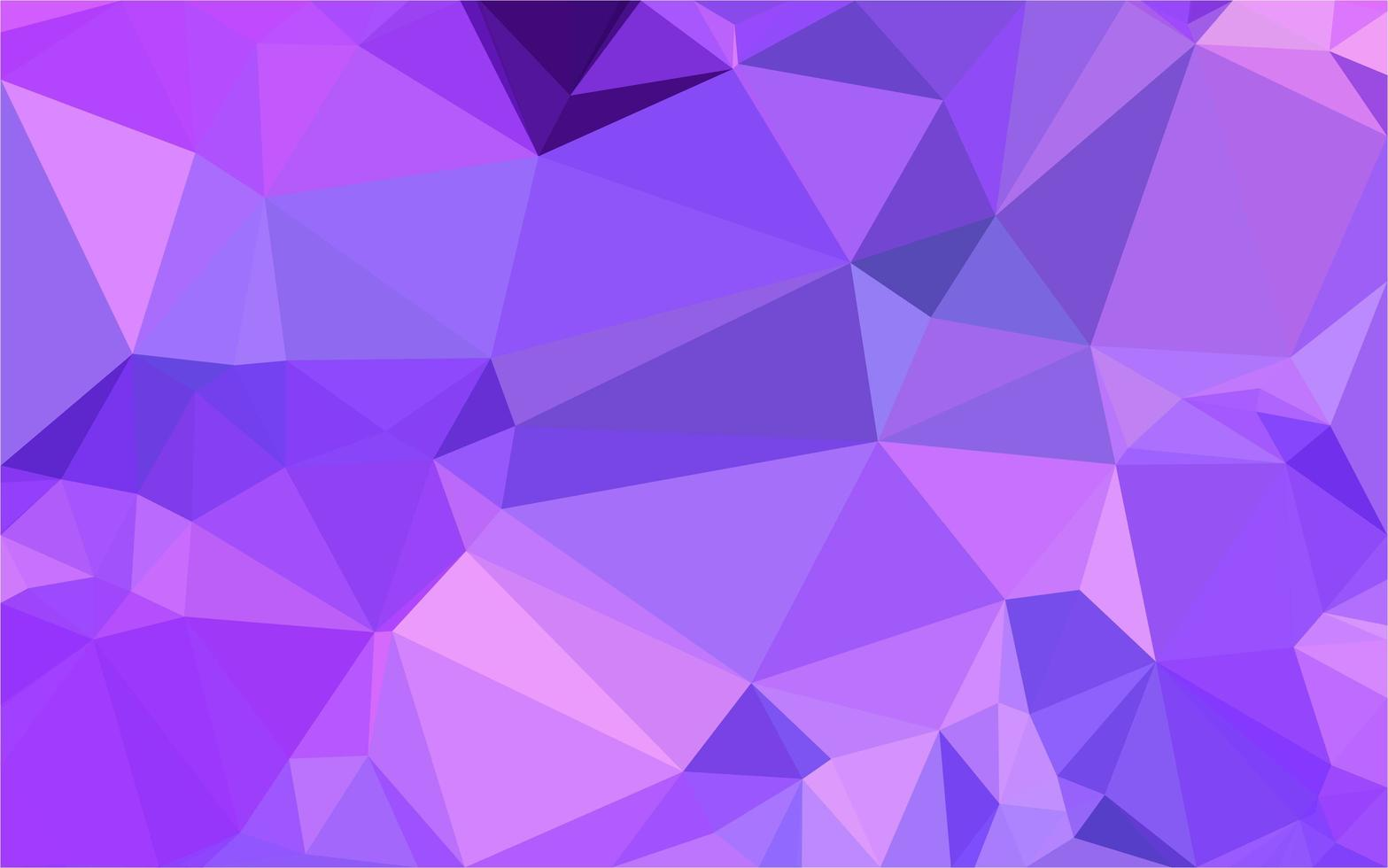 Purple poly  background vector