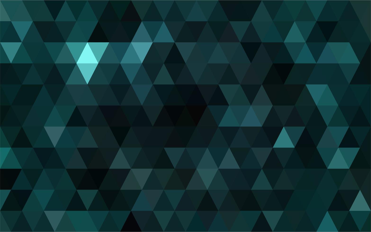 Dark green mosaic  vector