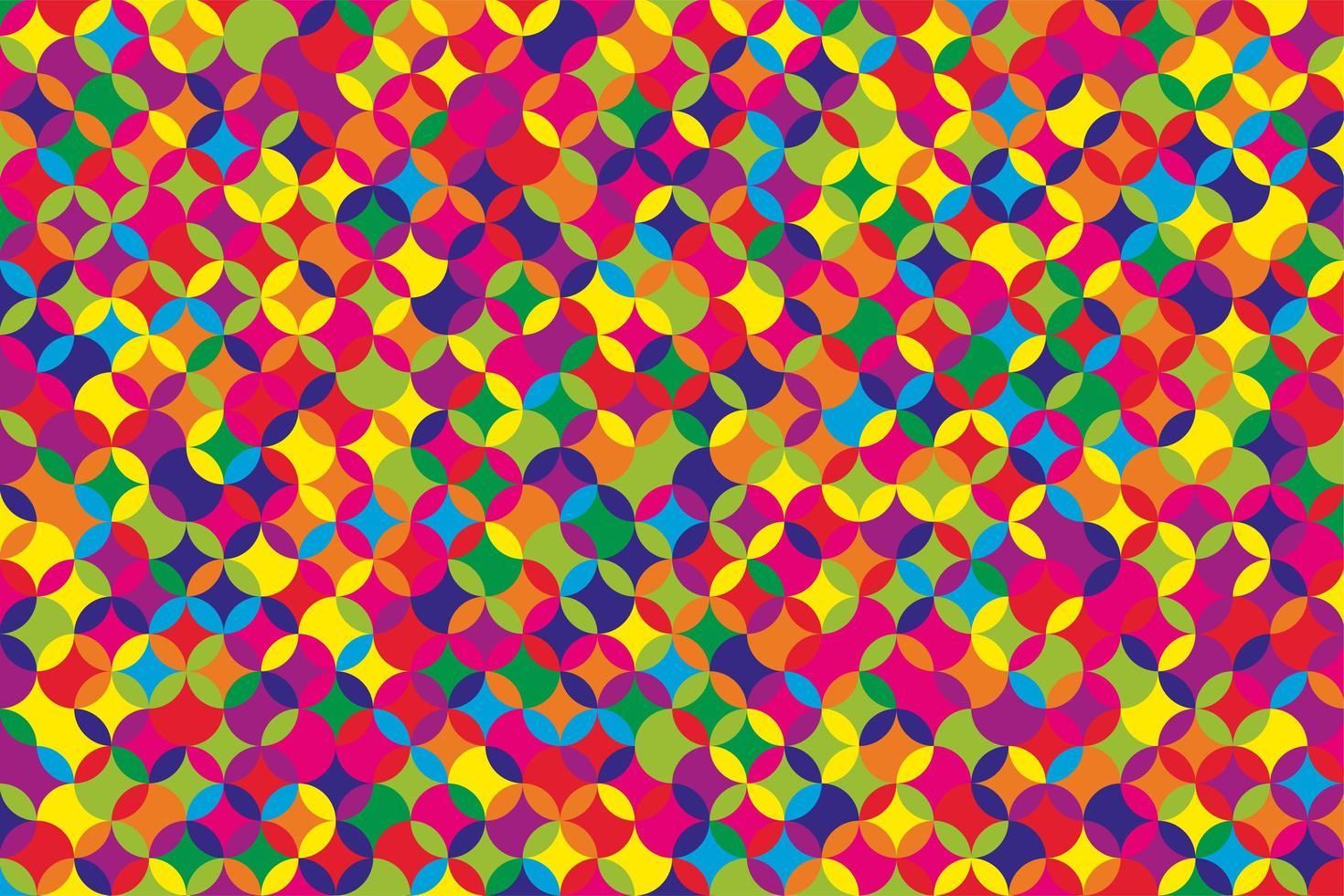 fundo de mosaico geométrico. vetor