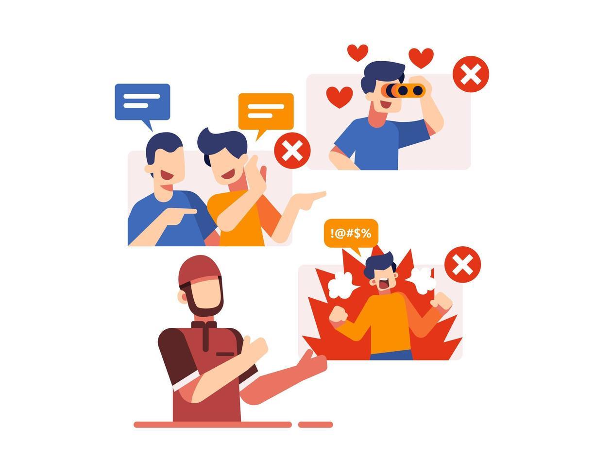design de ícone de regras do ramadã vetor