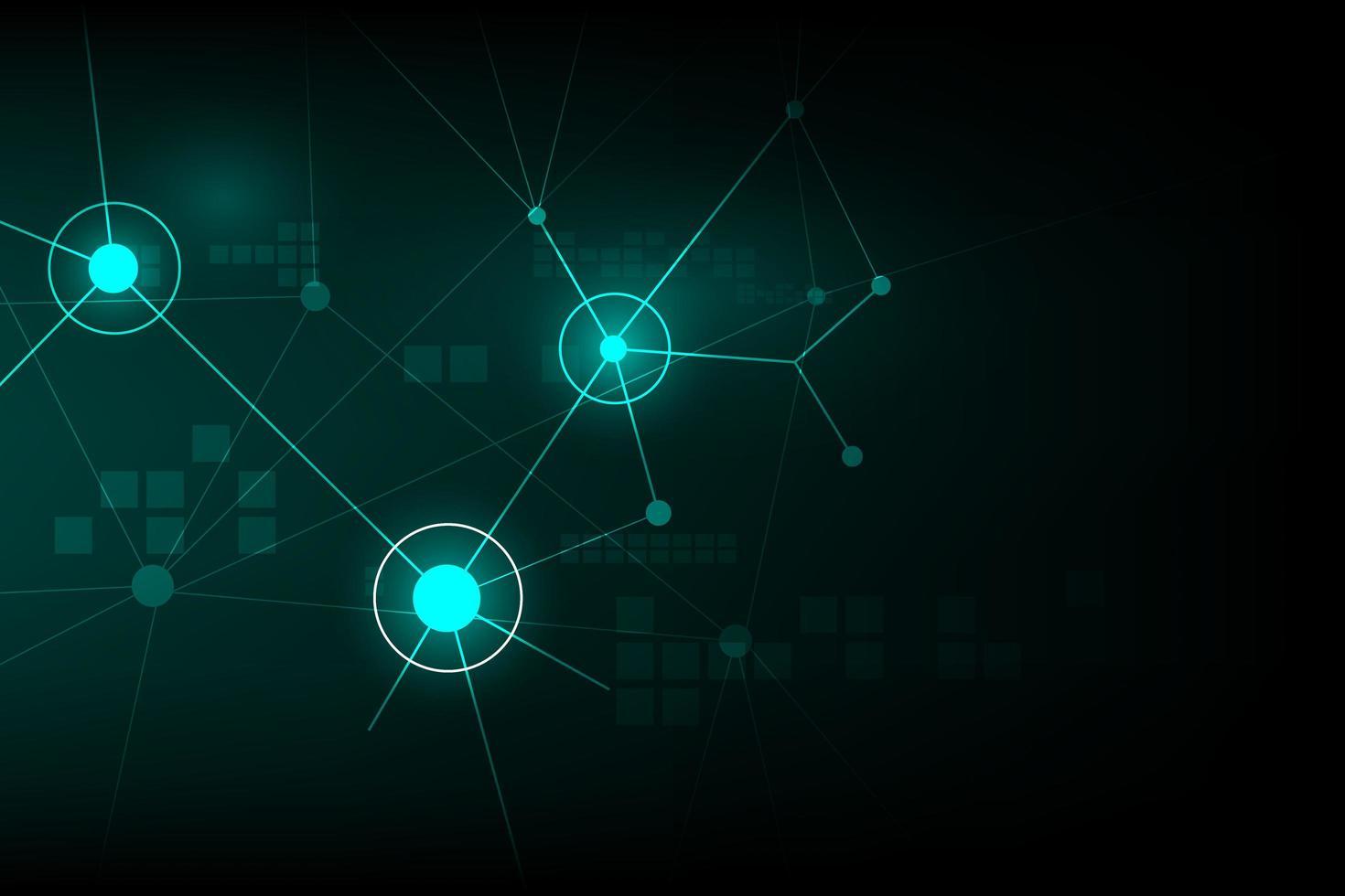 design de sinal de rede de internet abstrata vetor