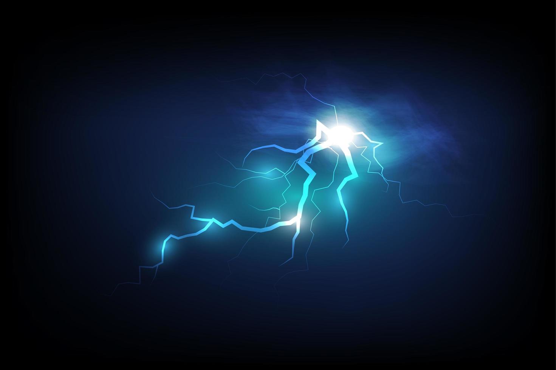 projeto de tempestade elétrica vetor