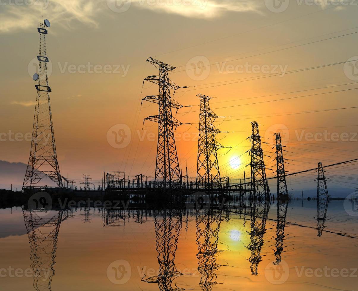 high voltage post photo