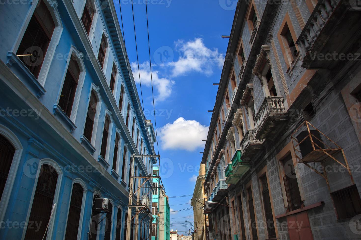 antiguo edificio cubano foto