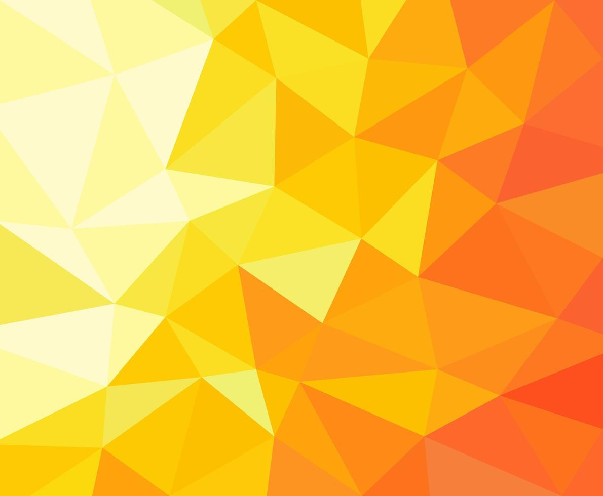 Background with polygons in gradient colors vector