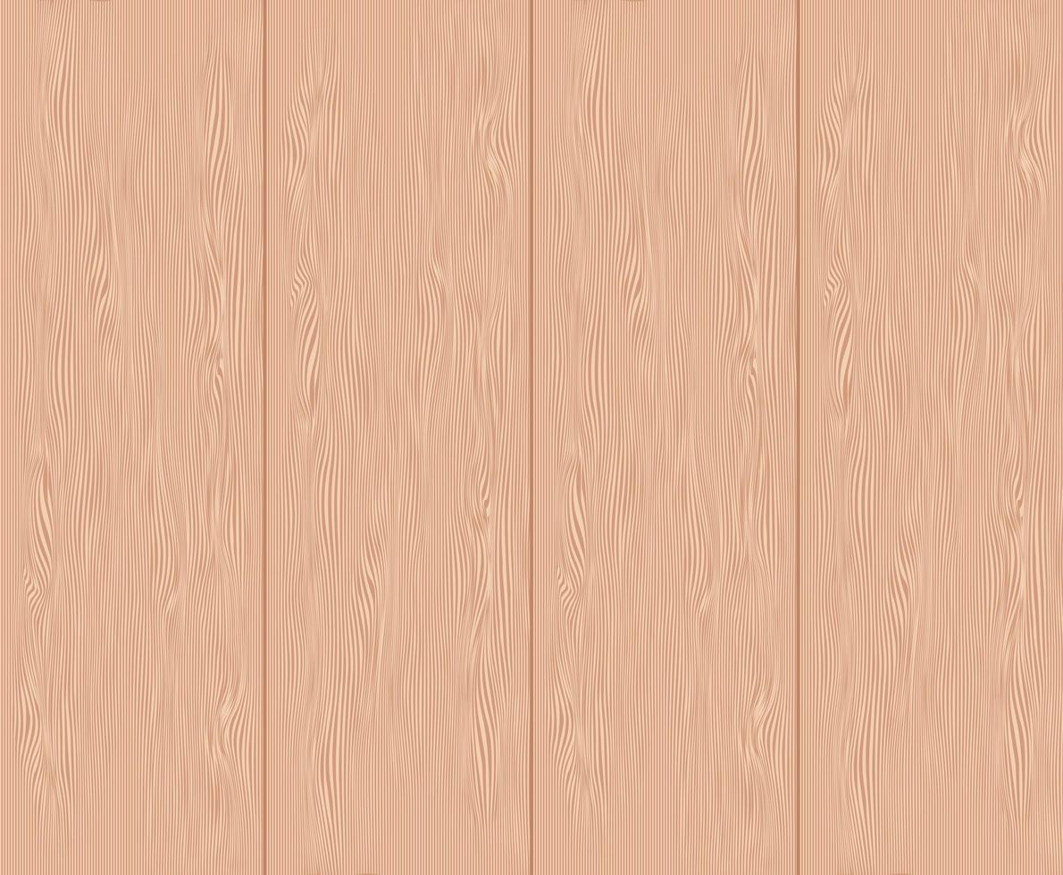 Close up of a light wooden floorboard texture vector