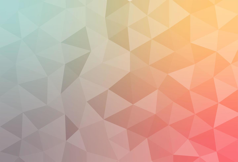 papel de parede plano de fundo com polígonos em cores degradê vetor