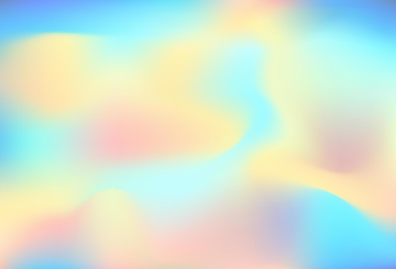 design de fundo gradiente holográfico colorido vetor