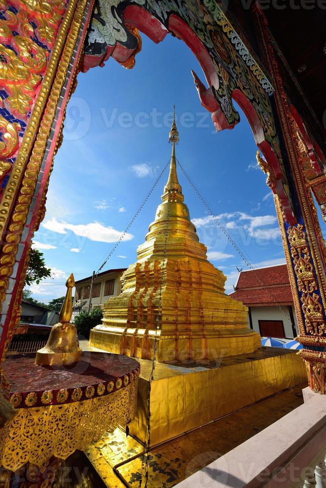 Thai temple of buddhism photo