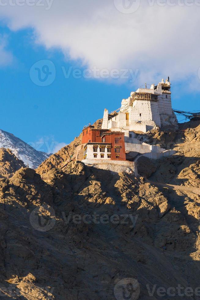 Namgyal Tsemo Gompa in Leh, Ladakh, India photo