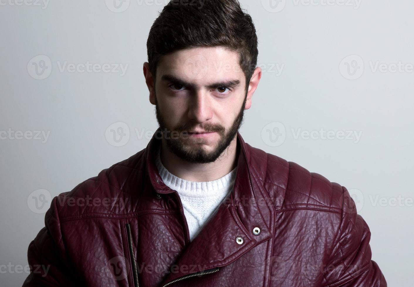 fashion man closeup photo