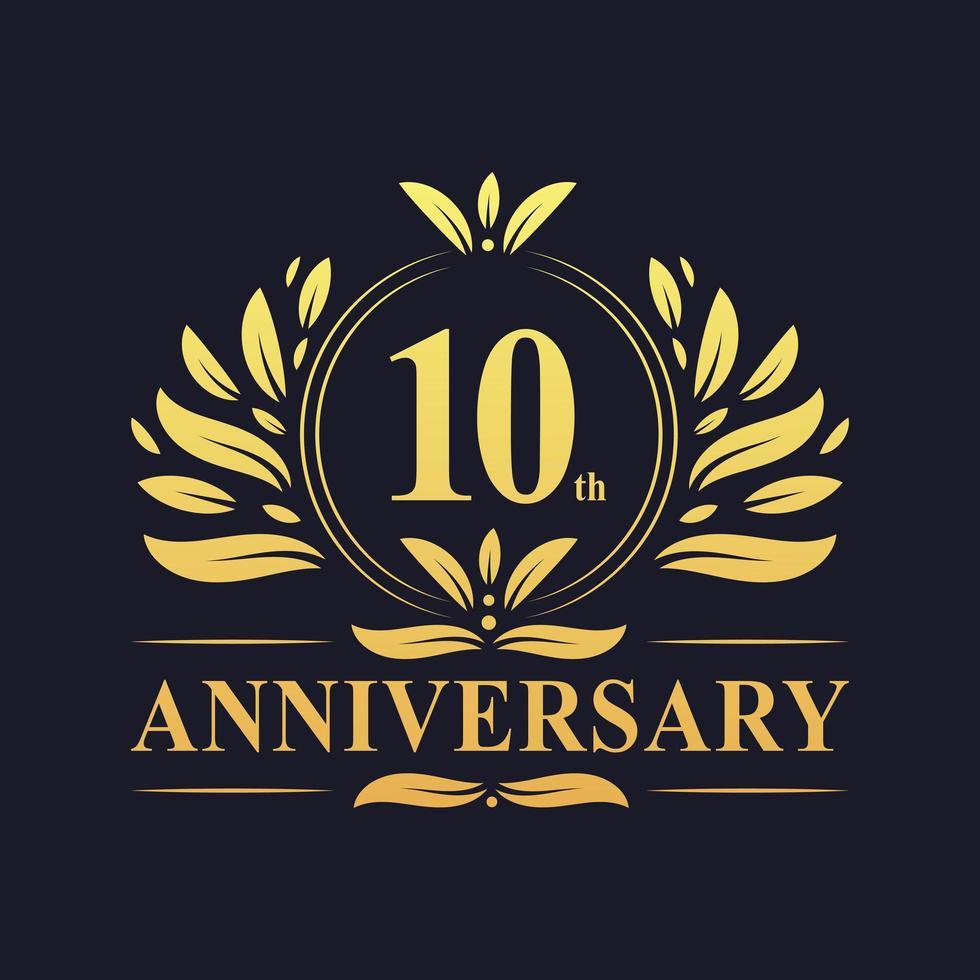 10 th Anniversary Logo vector