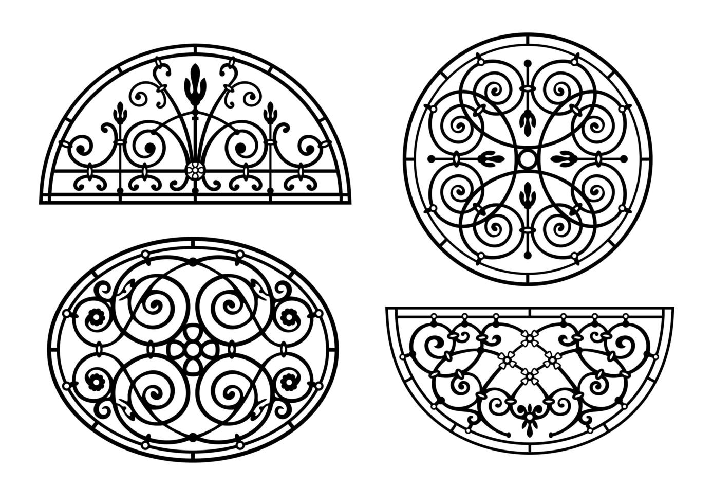 Set of forged lattices vector