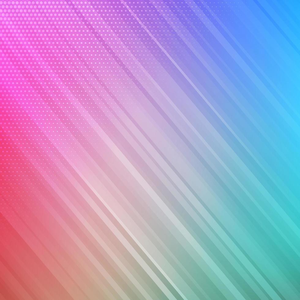 diseño a rayas de colores vector