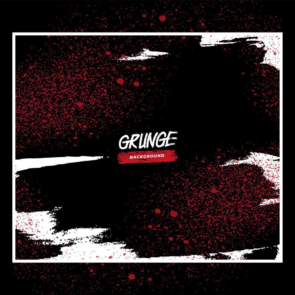 diseño grunge arenoso rojo y blanco vector