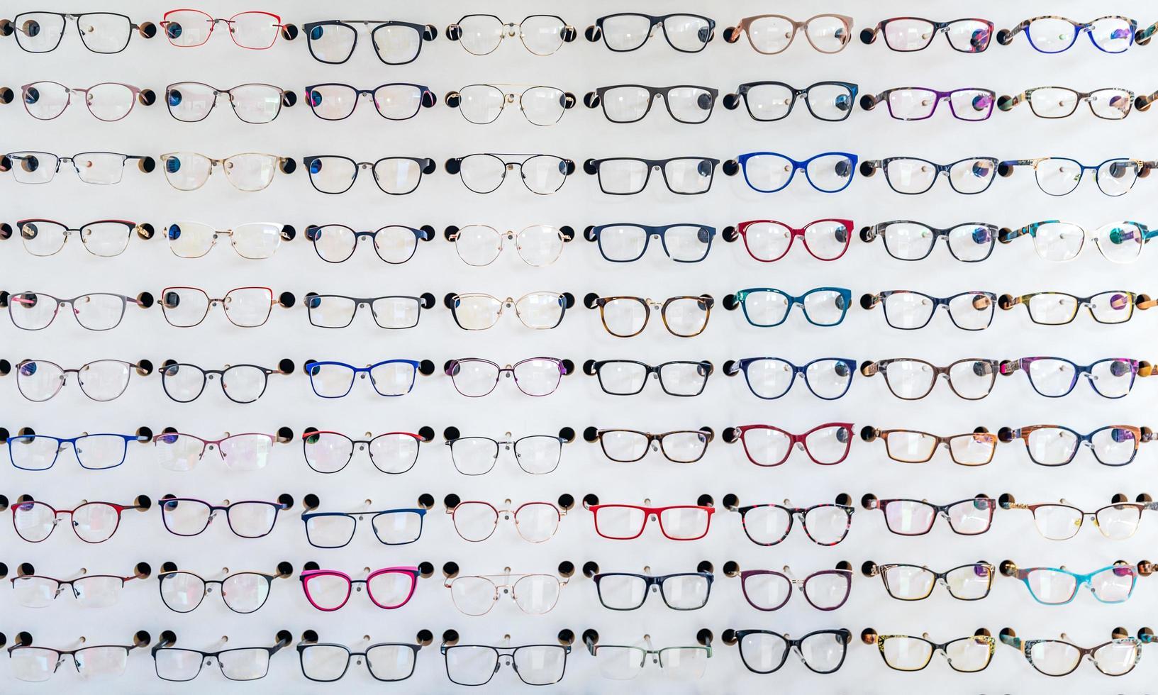 Eye glasses at an optometric clinic  photo