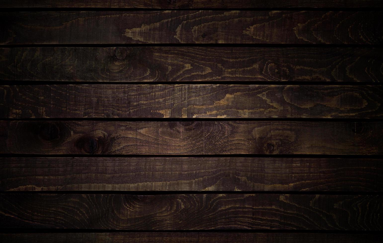 Dark wooden textured panels photo