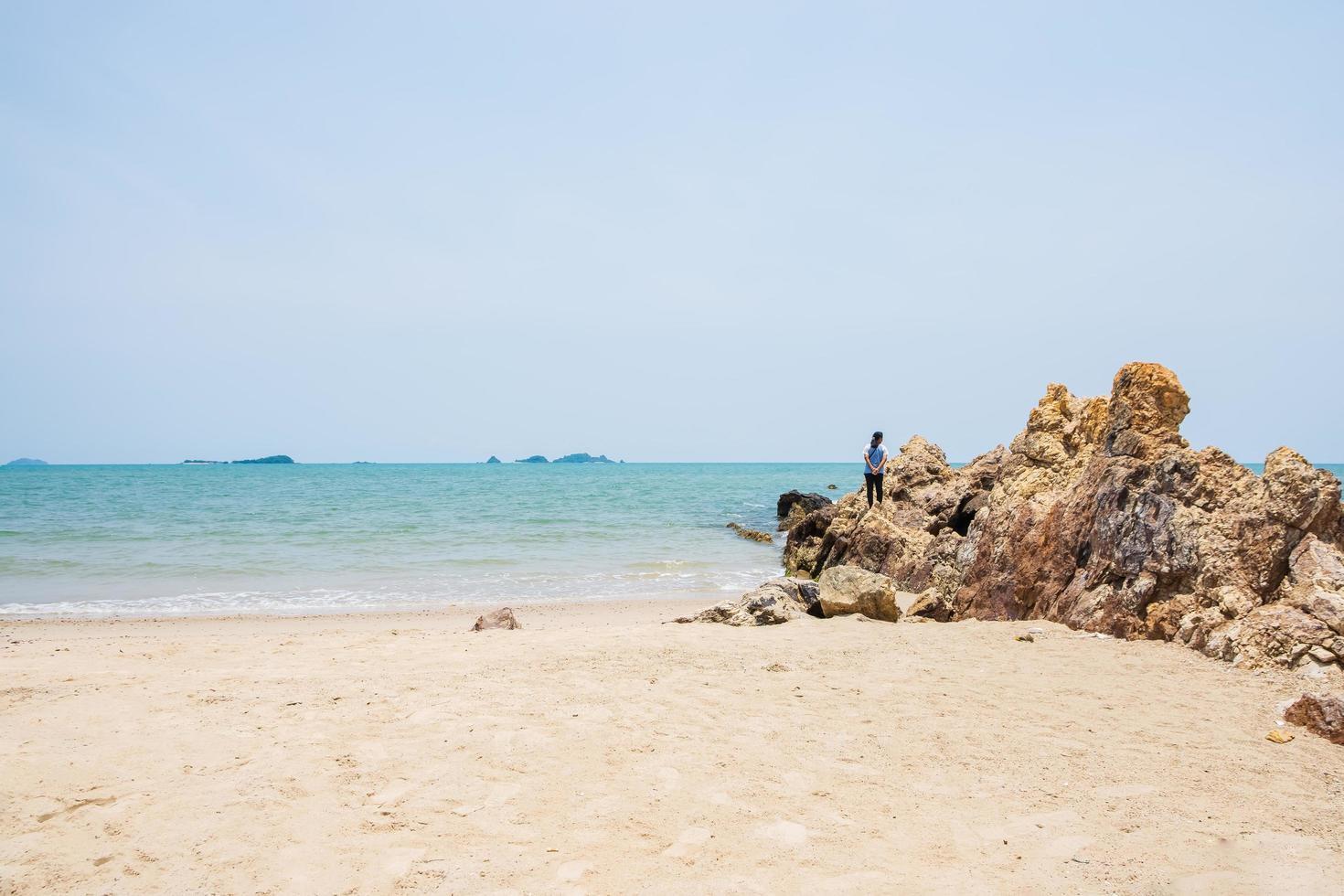 Beach and sea photo
