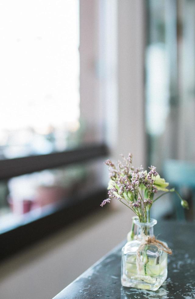 Close up of flower vase  photo