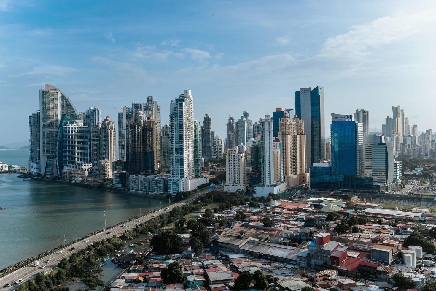 Panama city skyline photo