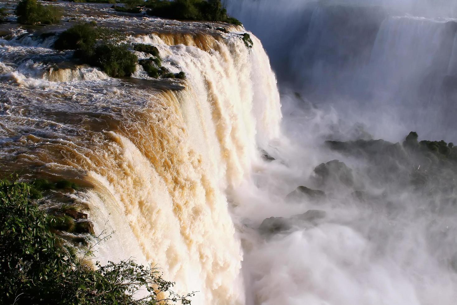 Niagara Falls in the sun photo