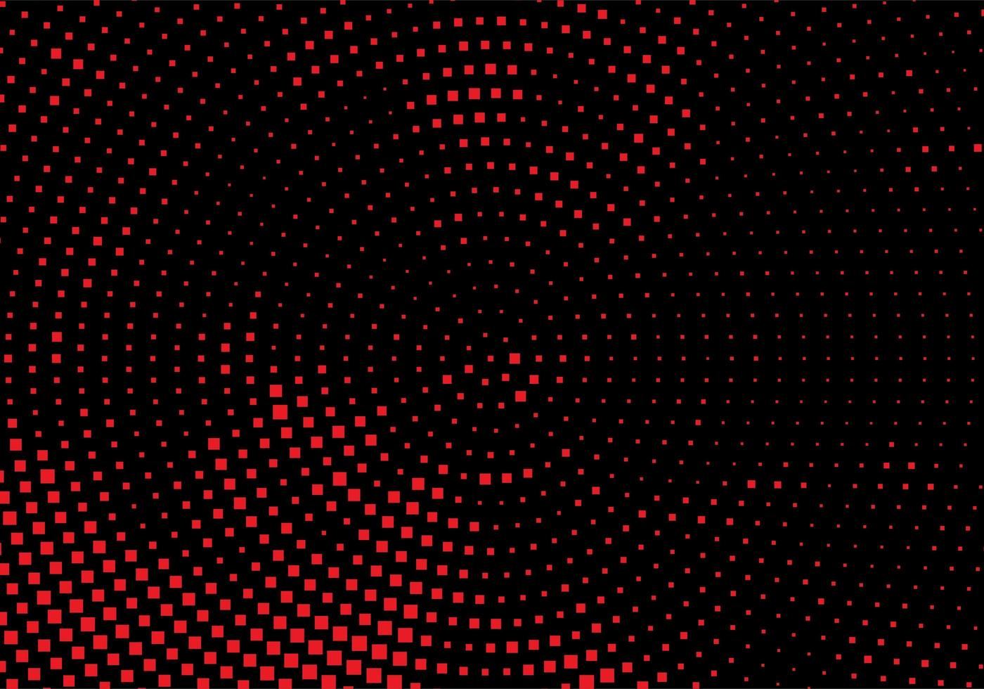 Modern red and black circular dotted background vector