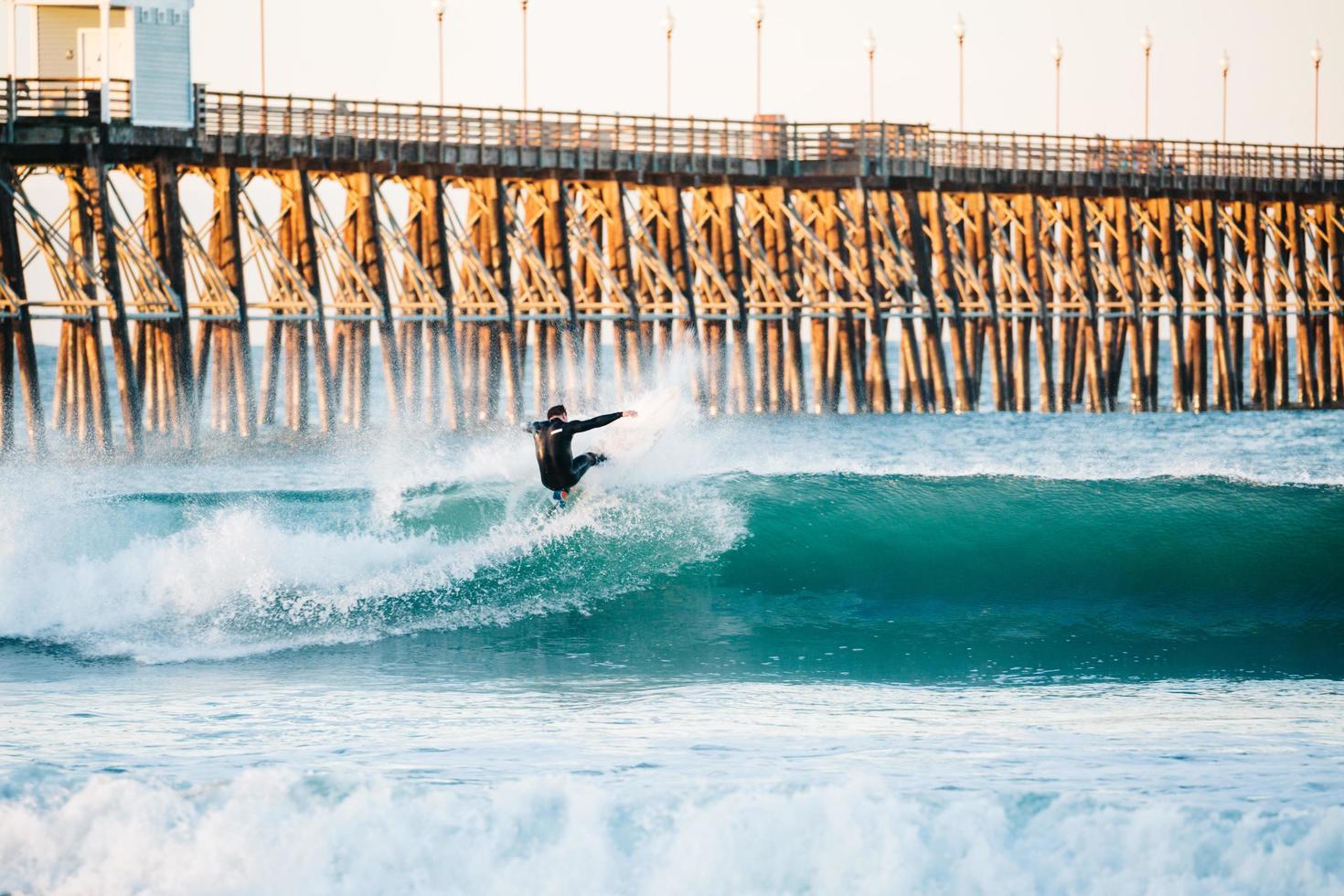 Surf in Oceanside, CA photo