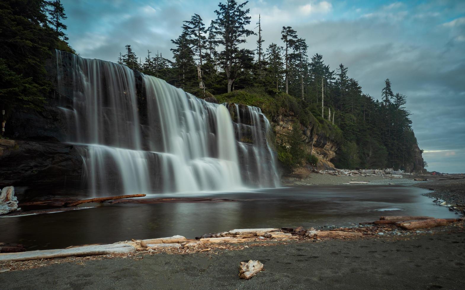 Tsusiat Falls  in Canada photo