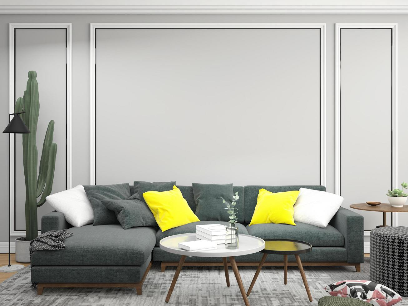 sala de estar contemporánea foto