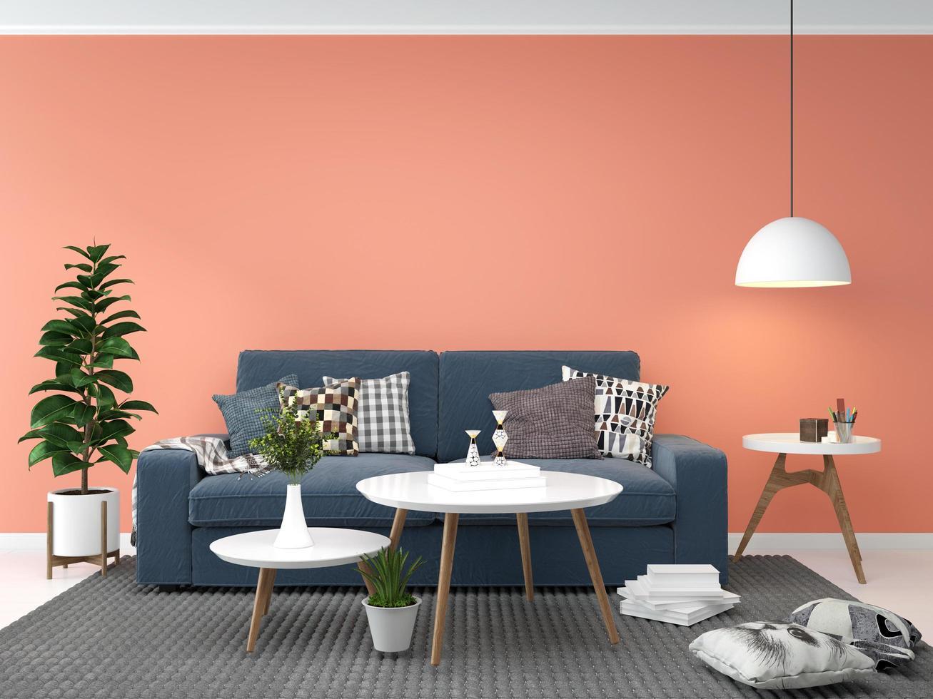 Scandinavian living room  photo