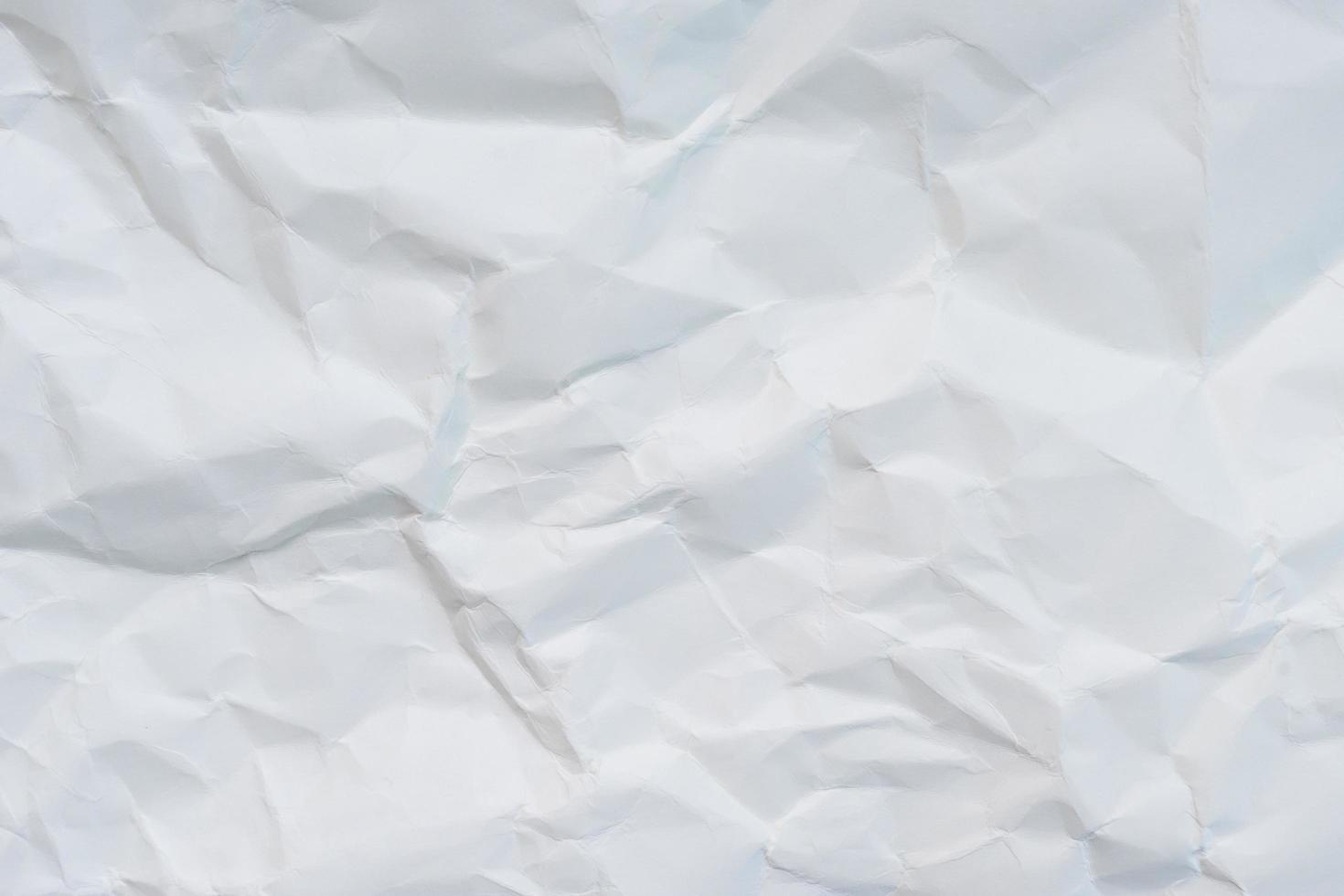 Crumpled paper texture photo