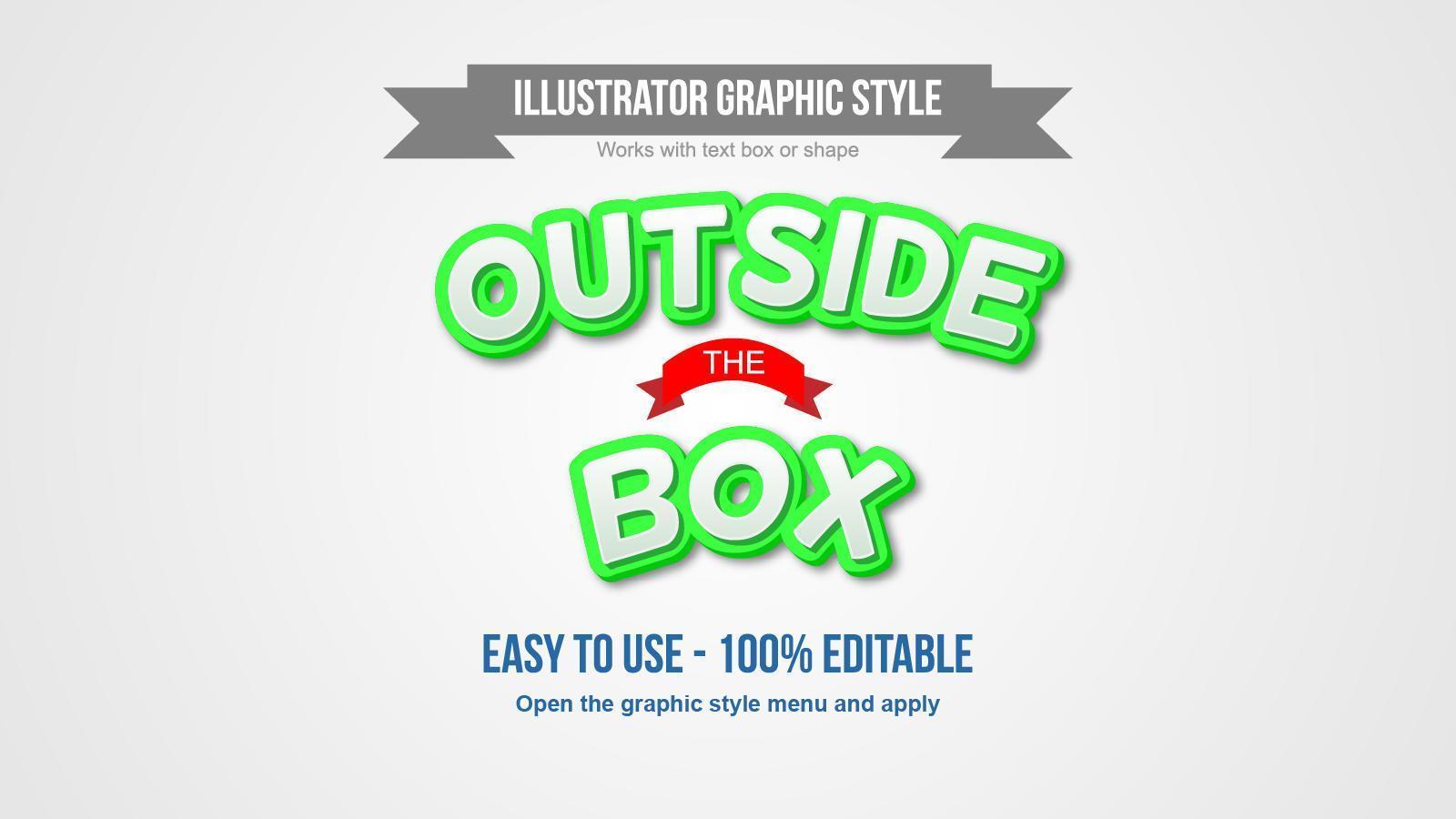 efecto de texto de dibujos animados 3d arqueado verde y blanco vector