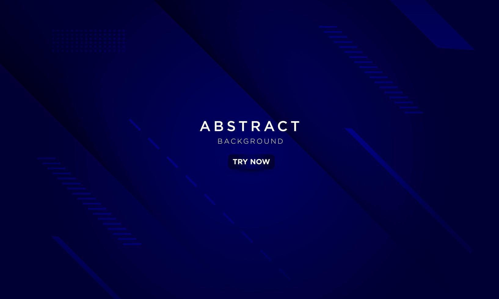 Geometric dark blue design vector
