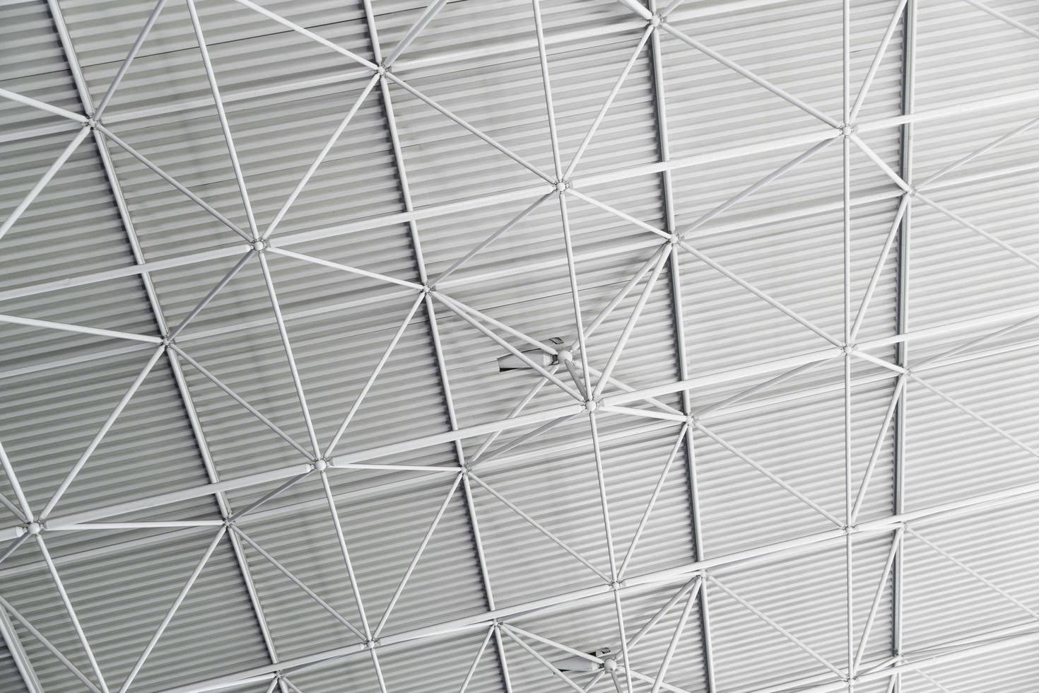 Grey steel roof ceiling photo