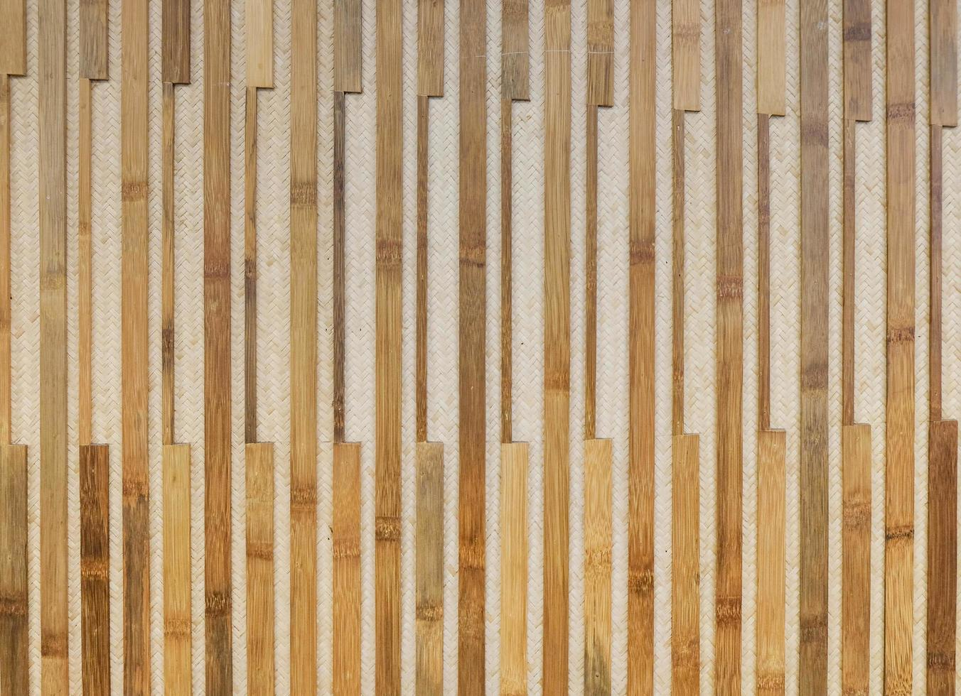 Old brown tone bamboo plank  photo