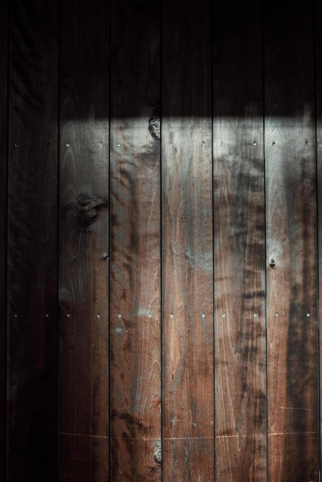 Brown wooden surface background photo