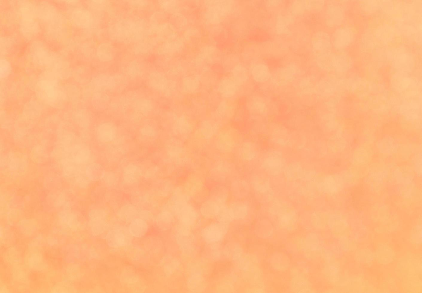Bright orange bokeh  photo