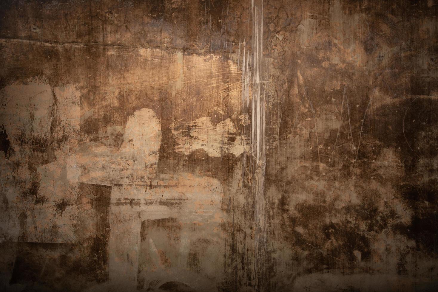 Rusty wall retro wallpaper design photo