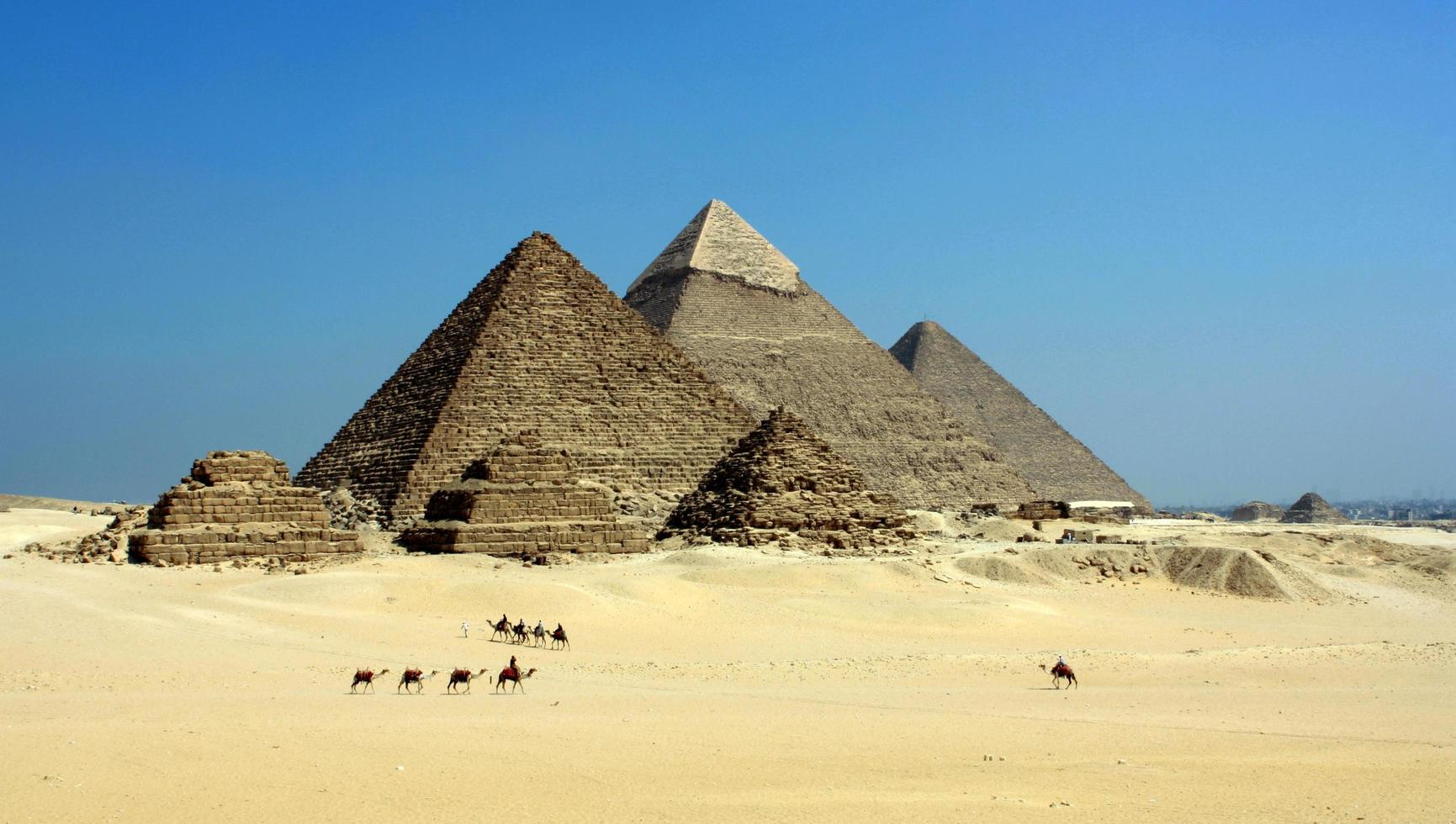 The Pyramids of Giza photo