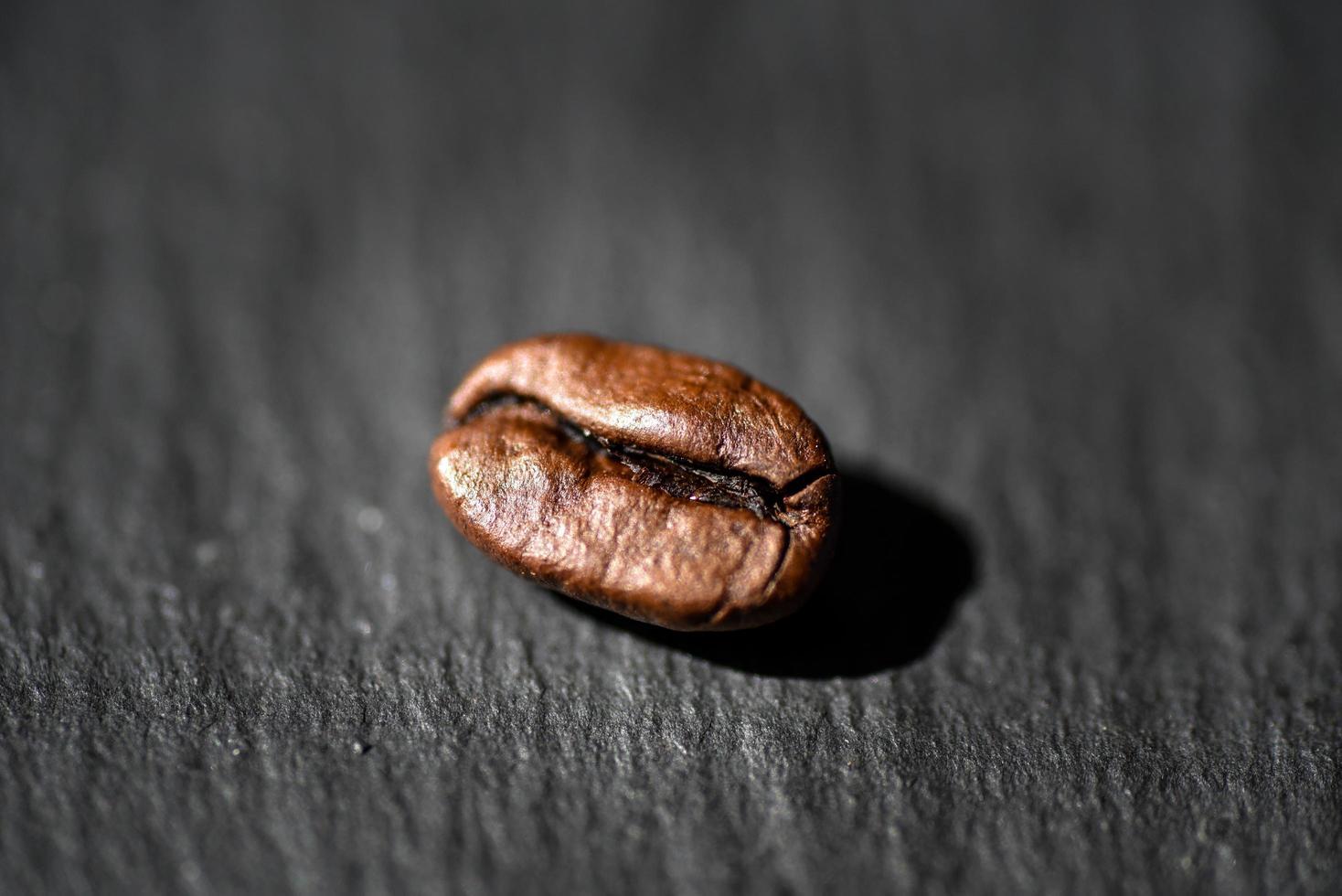 grano de café tostado foto