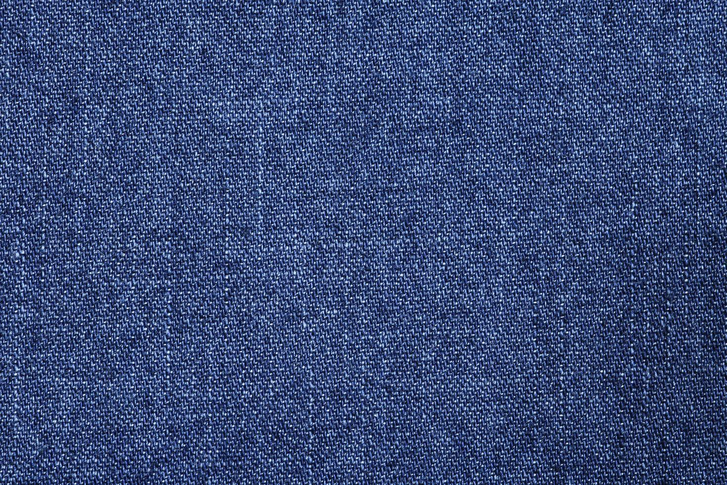 Close-up of blue denim photo