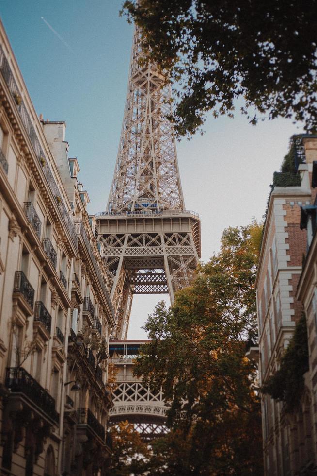 Torre Eiffel en París foto