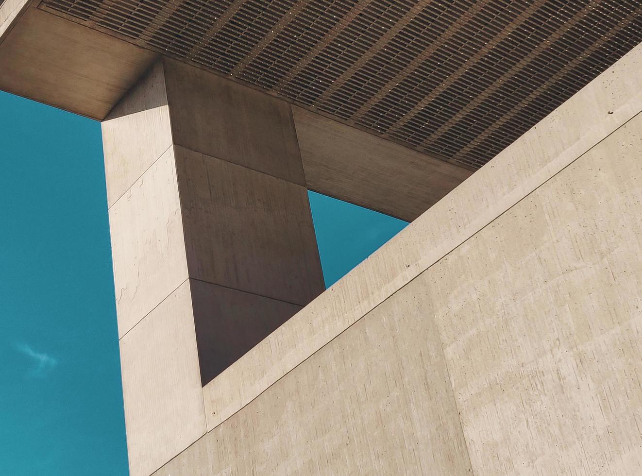 Architectural design of building photo