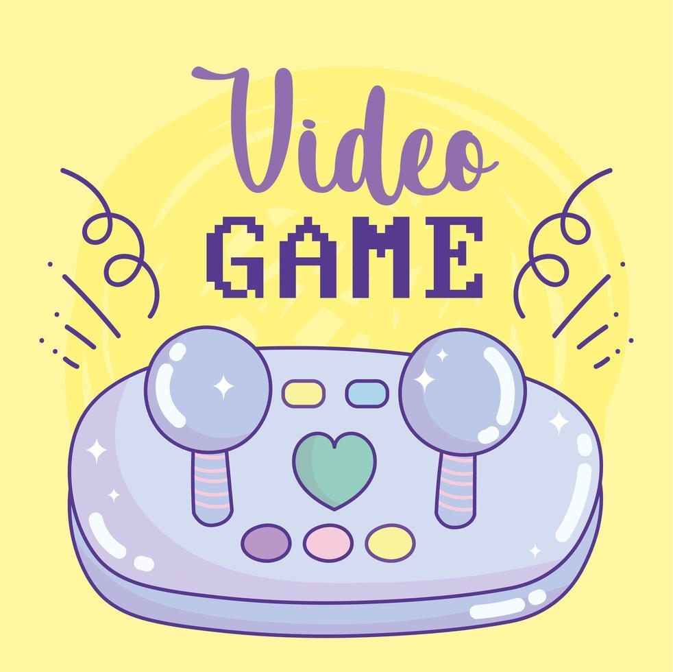 videojuego joystick botones entretenimiento gadget dispositivo electrónico vector